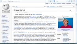 Merkel English wiki
