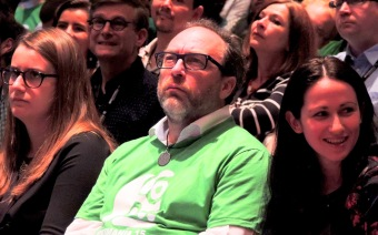 Jimmy Wales announced the Jimmy Wales Foundation at Wikimania 2015